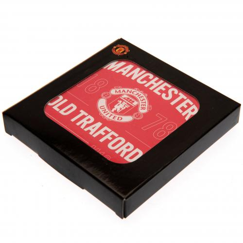 84afbd639bb Manchester United Coasters (4 Pack)
